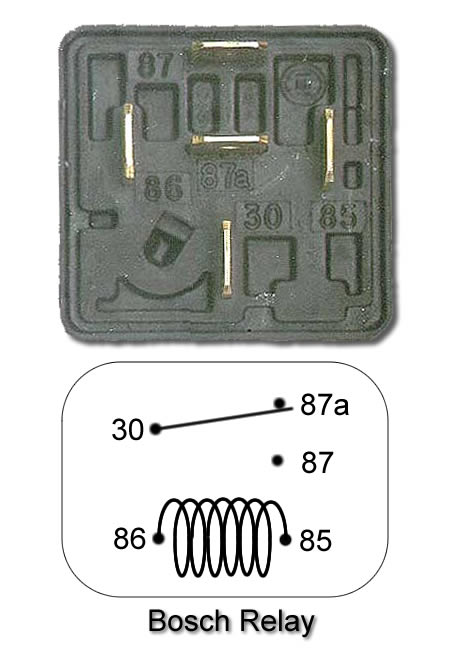 relay pinout revscene automotive forum you know the standard bosch relays can be had for 6 or so at princess auto why not just pick one up and follow the standard wiring diagrams available